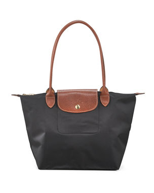 981820be27 Longchamp Le Pliage Medium Shoulder Tote Bag