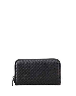 Bottega Veneta Continental Zip-Around Wallet