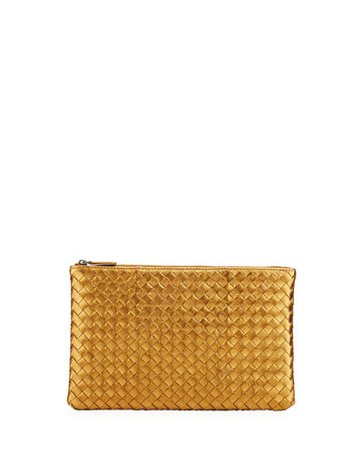 Bottega Veneta Extra Large Flat Cosmetics Bag