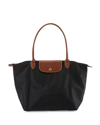 Image 1 of 4: Le Pliage Large Shoulder Tote Bag