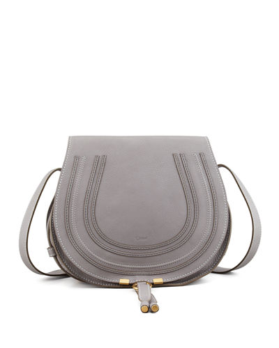 9fbf29c1c1 Quick Look. Chloe · Marcie Medium Leather Crossbody Bag, Gray