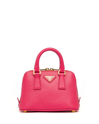 Image 1 of 4: Saffiano Mini Promenade Bag