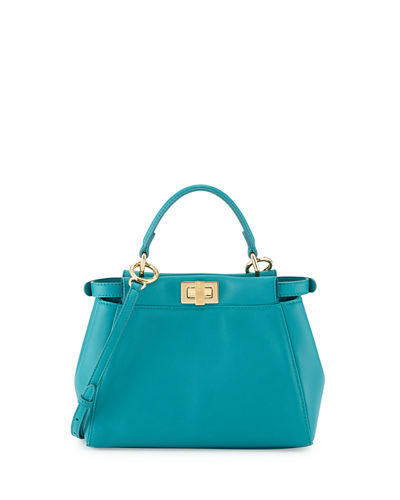 Fendi Peekaboo Mini Satchel Bag