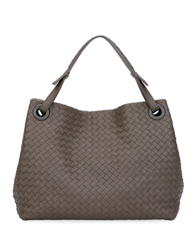 Bottega Veneta Medium Intrecciato Shoulder Bag