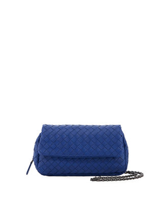 Bottega Veneta Intrecciato Small Chain Crossbody Bag