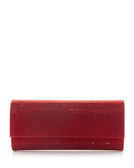 Image 1 of 3: Judith Leiber Couture Ritz Fizz Crystal Clutch Bag