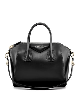 Givenchy Antigona Small Leather Satchel Bag