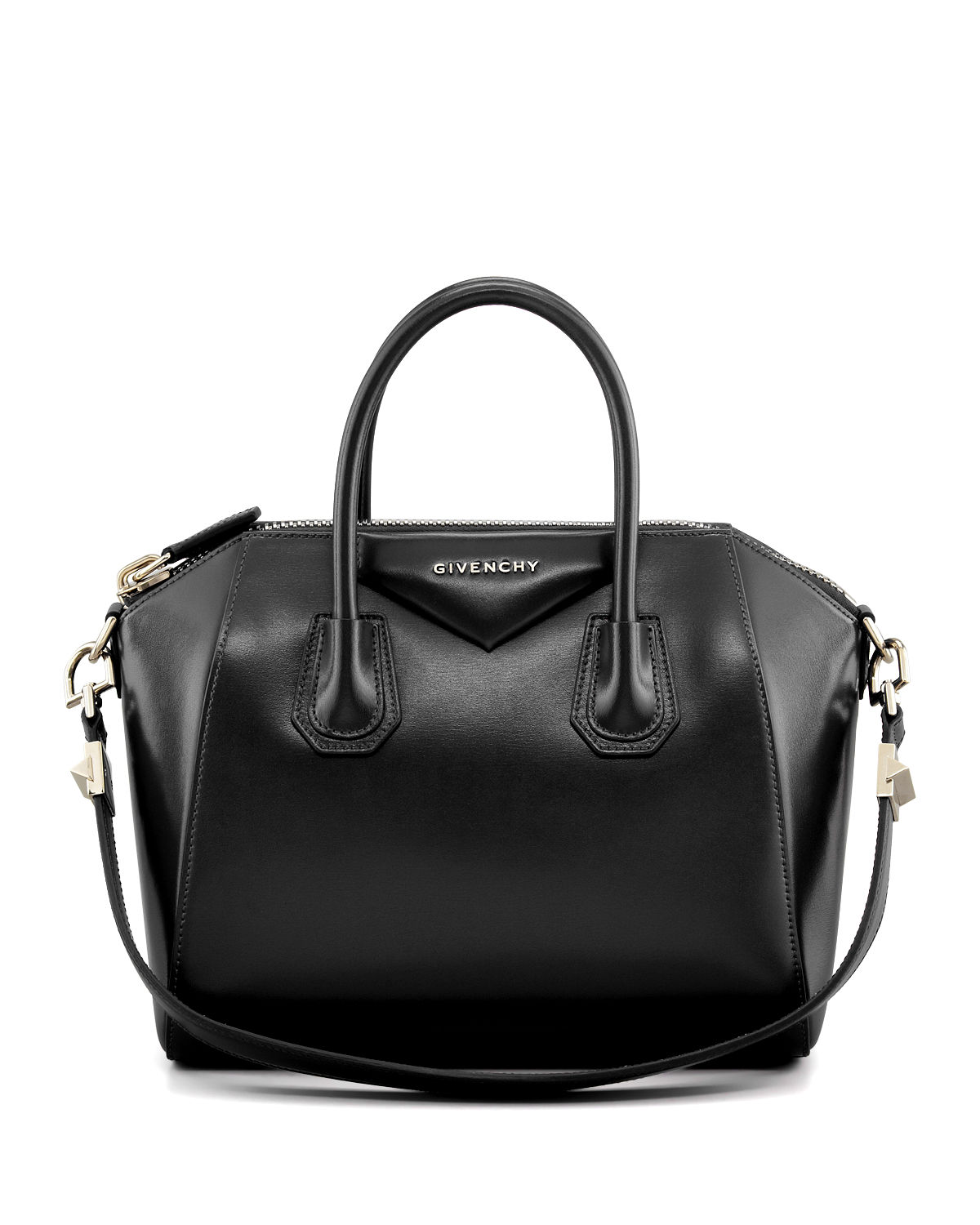 a5083599e9c1 Givenchy Antigona Small Leather Satchel Bag