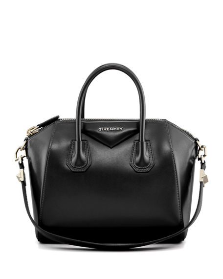 Image 1 of 3: Antigona Small Leather Bag
