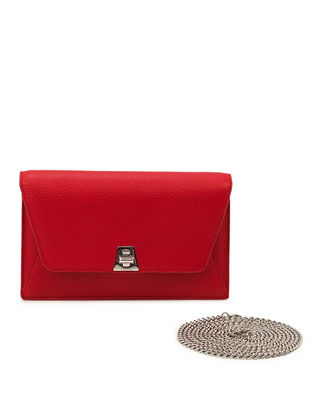 Image 1 of 4: Anouk Clutch Bag w/Chain