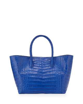 Crocodile Medium Convertible Tote Bag
