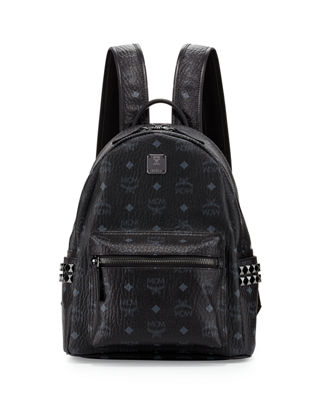 Stark Visetos Small Side-Stud Backpack