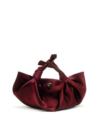 PRE-OWNED: ASCOT BAG SATIN SMALL