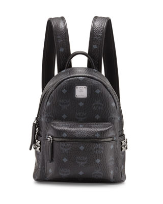 MCM Stark Side-Stud Mini Backpack