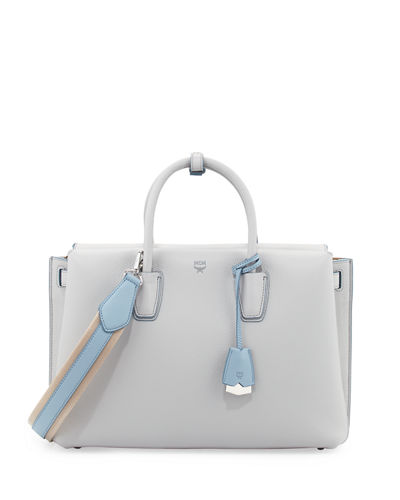 Milla Medium Leather Tote Bag