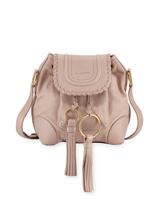 See by Chloe Polly Leather Flap Bucket Bag