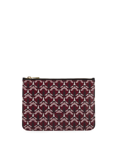 Liberty London Iphis-Print Zip-Top Pouch Bag
