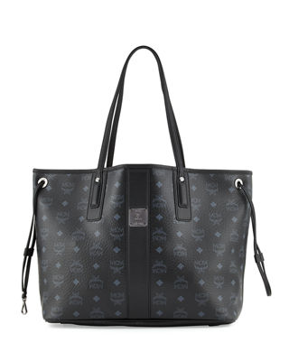 Image 1 of 6: Liz Reversible Medium Visetos Tote Bag