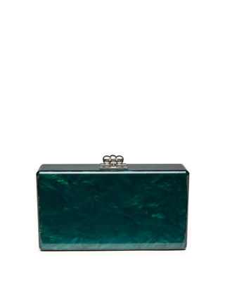 Image 1 of 5: Jean Solid Acrylic Clutch Bag