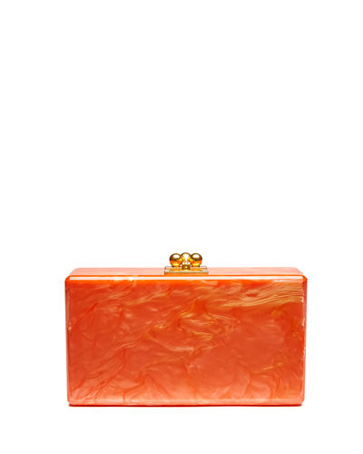 Edie Parker Jean Solid Acrylic Clutch Bag