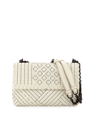 Bottega Veneta Olimpia Small Intrecciato Shoulder Bag