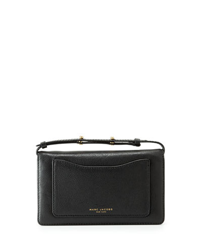 Marc Jacobs Recruit Leather Crossbody Wallet