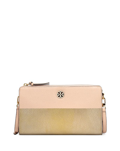 Tory Burch Perry Colorblock Wallet Crossbody Bag