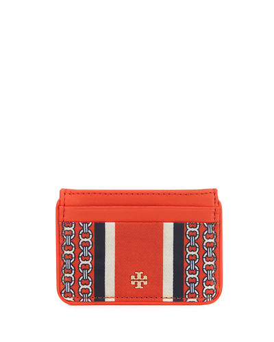 Tory Burch Gemini Link Slim Card Case