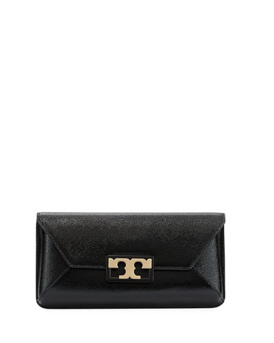Gigi Leather Clutch Bag