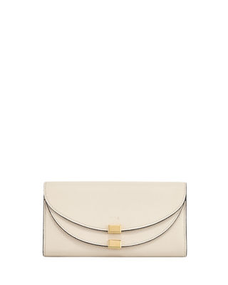 Chloe Georgia Leather Flap Wallet
