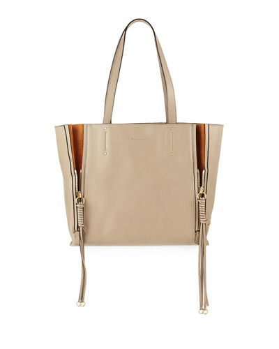 ad3dc572b Quick Look. Chloe · Milo Medium Leather & Suede Tote Bag