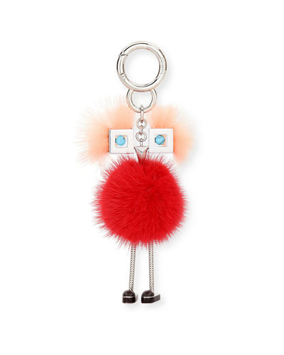 Fendi Chick Mink-Fur Bag Charm