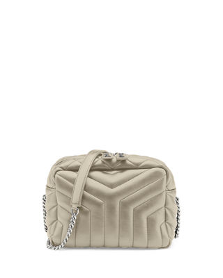 Loulou Monogram Y-Quilted Small Bowling Bag