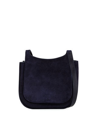 Hunting 7 Suede Crossbody Bag