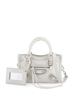 Image 1 of 2: Classic Metallic Edge Nano City AJ Crossbody Bag