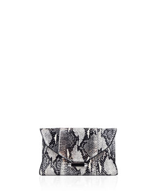 Judith Leiber Couture Baker Mini Elaphe Evening Clutch
