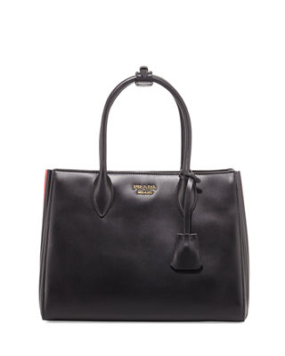 Prada Biblioth??que Medium Colorblock Tote Bag