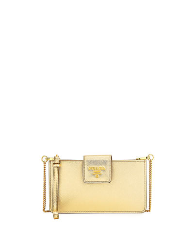 Prada Saffiano Crossbody Tech Case