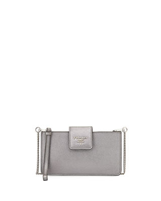 Saffiano Crossbody Tech Case