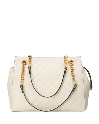 Gucci Signature Chain-Handle Tote Bag