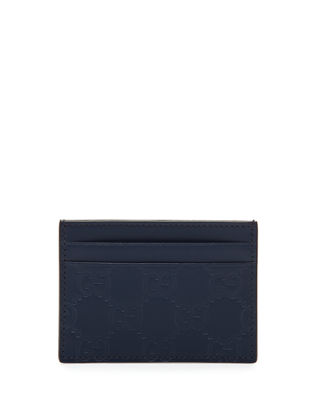Gucci Gucci Signature Leather Card Case