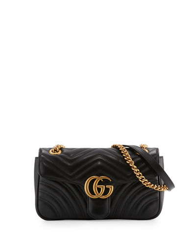 GG Marmont Small Matelasse Shoulder Bag