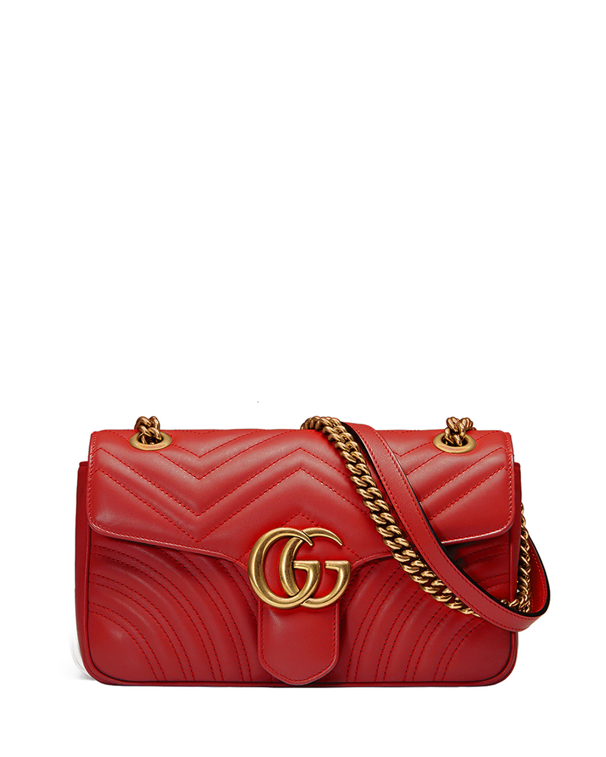 cab25770d2913 Gucci GG Marmont Small Matelasse Shoulder Bag