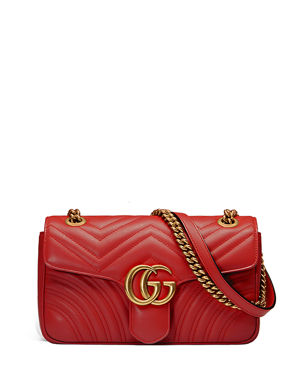 399224f9dfe Gucci GG Marmont Small Matelasse Shoulder Bag