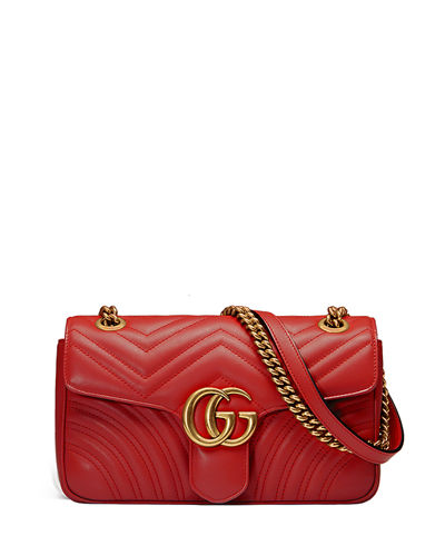 95f6bcdf3c12 Quick Look. Gucci · GG Marmont Small Matelasse Shoulder Bag