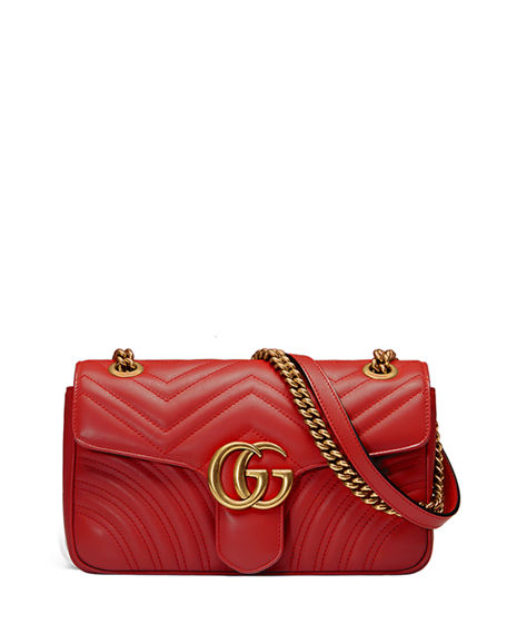 75167674fdfb Gucci GG Marmont Small Matelasse Shoulder Bag | Neiman Marcus