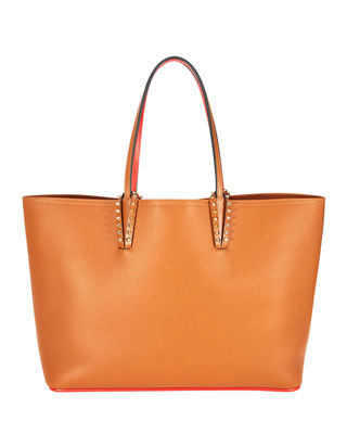 Cabata East-West Leather Tote Bag