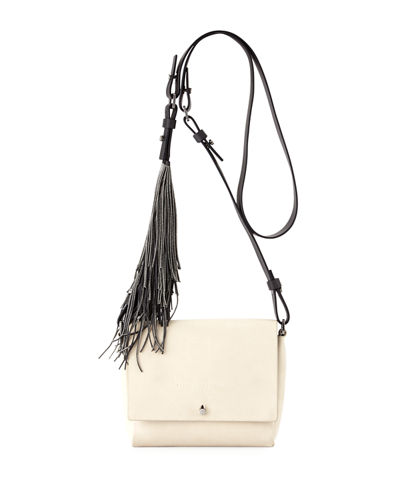 Small Flap Fringe Crossbody Bag
