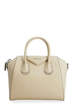 Givenchy Antigona Small Sugar Goatskin Satchel Bag