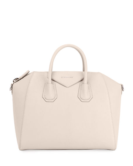 Available in Off-White. Made in Italy. Givenchy Women s Antigona Mini  Leather Duffel Bag - Off White A great designer gift. Stay on top of Spring  trends and ... 5550788804b60
